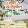FESTA PRIMAVERA VILLARBASSE 28 MAGGIO 2017